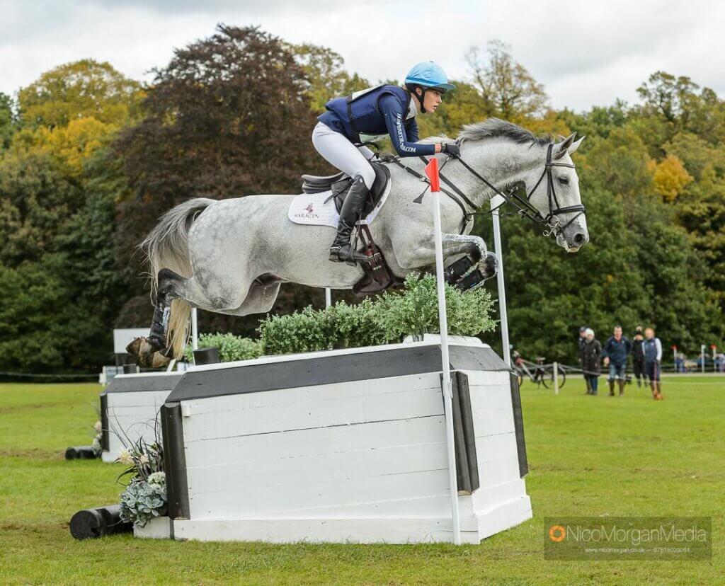 Bella Innes Ker and HIGHWAY II - Thoresberton Horse Trials